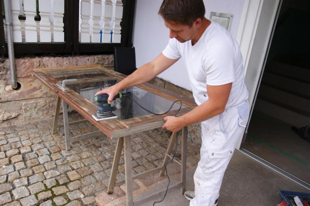 Aufarbeitung Von Alten Holzturen Mahnatur