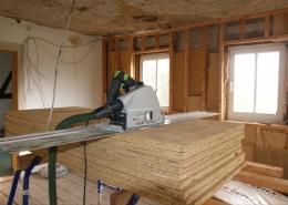Sanierung der Lehmputzdecke